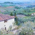 A Villa In Tuscany by Jan Matson