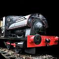 A Vintage Steam Train by Martin Newman