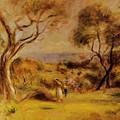 A Walk By The Sea 1915 by Renoir PierreAuguste