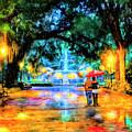 A Walk In Forsyth Park - Savannah by Mark Tisdale