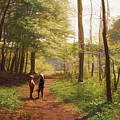 A Walk In The Forest by Niels Christian Hansen