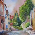 A Walk In The Village by Karen Stark