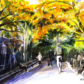A Walk Through The Park by Liz Viztes