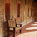 A Warm Welcome, Mission San Juan Capistrano, California by Denise Strahm