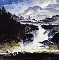 A Waterfall by Peder Balke