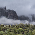 A Wave Of Fog On The Superstitions  by Saija Lehtonen