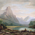 A Welsh Valley by John Varley