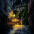 A Wet Evening In Marburg by David Morefield