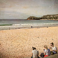 A Winter's Day In Manly by Elaine Teague