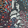 A Woman Between Prints by Muniz Filho