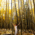 A Woman In The Aspen by Scott Sawyer