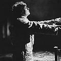 A Woman Sleep Walking by Underwood Archives
