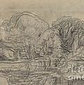 A Woodland Pond by Charles-fran?ois Daubigny