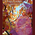 A Yoga Teacher by Felipe Adan Lerma