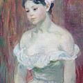 A Young Girl by Berthe Morisot