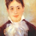 A Young Woman 1875 by Renoir PierreAuguste