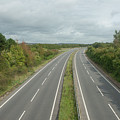 A27 Dual Carriageway Totally Clear Of Traffic. by Richard Wareham