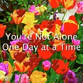 Aa One Day At A Time by Femina Photo Art By Maggie