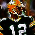 Aaron Rodgers - Green Bay Packers by Paul Ward