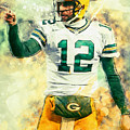 Aaron Rodgers by Zapista