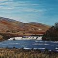 Aasleagh Falls by Tony Gunning