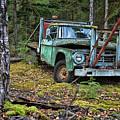 Abandoned Alaskan Logging Truck by Nick Gray