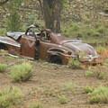 Abandoned Antique Car by Beth Benton