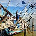 Abandoned Boat - Houston, Tx by Greg Vajdos