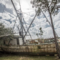 Abandoned Boat by John McGraw