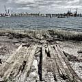 Abandoned Boat Slip by John Hoesly
