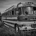 Abandoned Bus by Charles Scrofano Jr