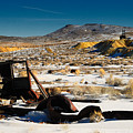 Abandoned Car Near Goldfield by Werner Rolli