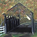 Abandoned Covered Bridge  by Mary Kaser