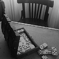 Abandoned Domino Set by Mina Milad
