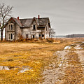 Abandoned Farm House by Cale Best