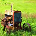 Abandoned Farm Tractor by Tom Mc Nemar