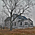Abandoned Farmhouse by Laurie With