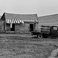 Abandoned Ford Truck And Shed by David Hohmann