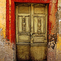 Abandoned Green Door 1 by Mexicolors Art Photography