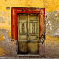 Abandoned Green Door 2 by Mexicolors Art Photography