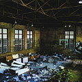 Abandoned Gymnasium Interior by Dylan Murphy