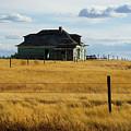 Abandoned Homestead Saskatchewan by Bob Christopher