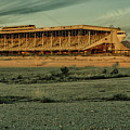 Abandoned Horse Track by Charles Scrofano Jr