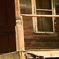 Abandoned House - Abandoned Porch by Lenore Senior
