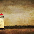 Abandoned Lighthouse by Meirion Matthias