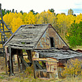 Abandoned Mine In Autumn by Robert Meyers-Lussier