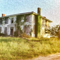 Abandoned Old House In Isle Of Wight Virginia by Ola Allen