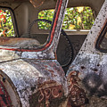 Abandoned Old Truck Newport New Hampshire by Edward Fielding