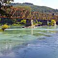 Abandoned Railroad Bridge by Paul Fell