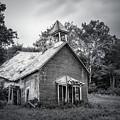 Abandoned Schoolhouse by Tom Mc Nemar